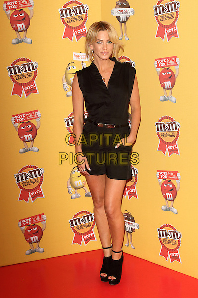 LONDON, ENGLAND - APRIL 14: Sarah Harding attends the M&amp;M's Characters Election launch party at M&amp;M's World on April 14, 2015 in London, England.<br /> CAP/ROS<br /> &copy;Steve Ross/Capital Pictures