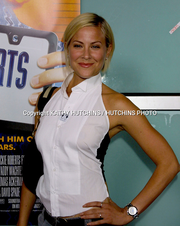 """©2003 KATHY HUTCHINS / HUTCHINS PHOTO.WORLD PREMIERE OF """"DICKIE ROBERTS:FORMER CHILD STAR"""".BENEFITING THE CHRIS FARLEY FOUNDATION.CINERAMA DOME.LOS ANGELES, CA.SEPTEMBER 3, 2003..BRITTNEY DANIEL"""