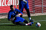 Spainsh Sergio Asenjo during the training of the spanish national football team in the city of football of Las Rozas in Madrid, Spain. November 10, 2016. (ALTERPHOTOS/Rodrigo Jimenez)