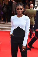 Dina Asher Smith<br /> arriving for the Prince's Trust Awards 2020 at the London Palladium.<br /> <br /> ©Ash Knotek  D3562 11/03/2020