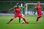 Johannes Eggestein (Werder Bremen #24)<br /> <br /> Sport: Fussball: 1. Bundesliga: Saison 19/20: <br /> 26. Spieltag: SV Werder Bremen vs Bayer 04 Leverkusen, 18.05.2020<br /> <br /> Foto ©  gumzmedia / Nordphoto / Andreas Gumz / POOL <br /> <br /> Nur für journalistische Zwecke! Only for editorial use!<br />  DFL regulations prohibit any use of photographs as image sequences and/or quasi-video.