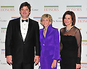 William Kennedy Smith, Jean Kennedy Smith and Victoria Reggie Kennedy arrive for the formal Artist's Dinner at the United States Department of State in Washington, D.C. on Saturday, December 4, 2010..Credit: Ron Sachs / CNP.