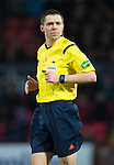 Ross County v St Johnstone....07.04.15   SPFL<br /> Referee Kevin Clancy<br /> Picture by Graeme Hart.<br /> Copyright Perthshire Picture Agency<br /> Tel: 01738 623350  Mobile: 07990 594431