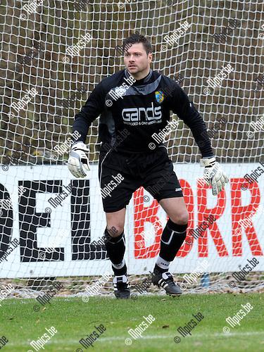 2011-02-13 / Voetbal / seizoen 2010-2011 / Mariekerke - KFCO Wilrijk / Yvan de Corte..Foto: mpics