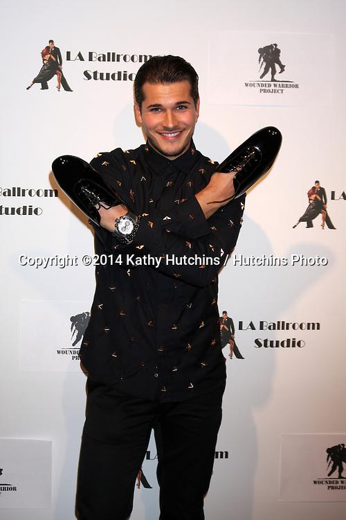 LOS ANGELES - MAR 31:  Gleb Savchenkoand at the LA Ballroom Studio Grand Opening at LA Dance Studio on March 31, 2014 in Sherman Oaks, CA