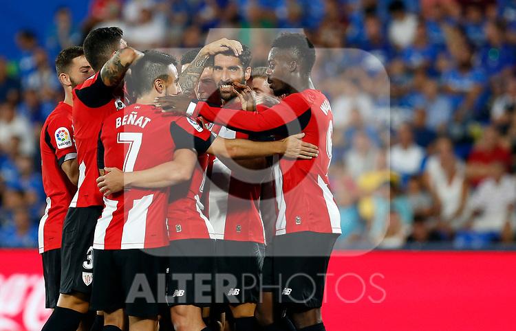 Athletic Club de Bilbao's Raúl Garcia during La Liga match. Aug 24, 2019. (ALTERPHOTOS/Manu R.B.)