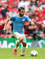 Bernardo Silva of Manchester City during the FA Community Shield match between Liverpool and Manchester City at Wembley Stadium on August 4th 2019 in London, England. (Photo by John Rainford/phcimages.com)<br /> Foto PHC/Insidefoto <br /> ITALY ONLY