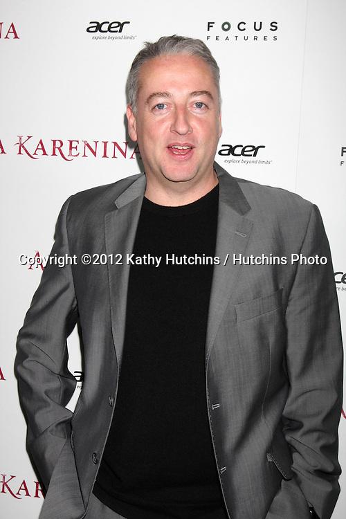 LOS ANGELES - NOV 14:  Seamus McGarvey arrives to the 'Anna Karenina' Los Angeles Premiere at ArcLight Hollywood on November 14, 2012 in Los Angeles, CA