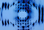 DNA X-ray diffraction pattern.