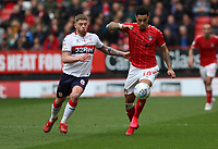 André Green of Charlton Athletic and Adam Clayton of Middlesbrough during Charlton Athletic vs Middlesbrough, Sky Bet EFL Championship Football at The Valley on 7th March 2020