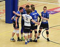 VT KORTRIJK - KNACK B ROESELARE :<br /> juichende spelers van Knack B bij het behalen van een punt<br /> <br /> Foto VDB / Bart Vandenbroucke