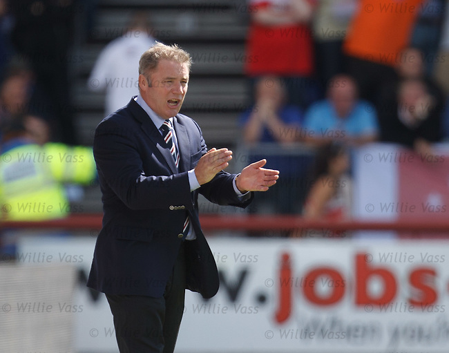 Ally McCoist applauds