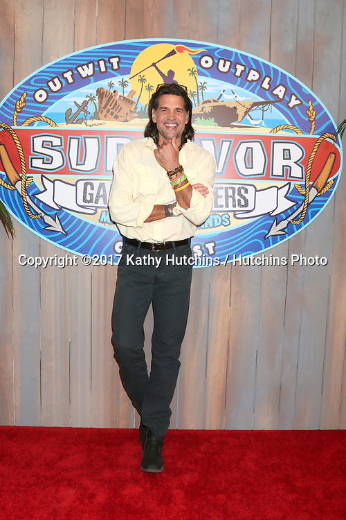 "LOS ANGELES - MAY 24:  Troyzan Robertson at the ""Survivor: Game Changers - Mamanuca Islands"" Finale at the CBS Studio Center on May 24, 2017 in Studio City, CA"