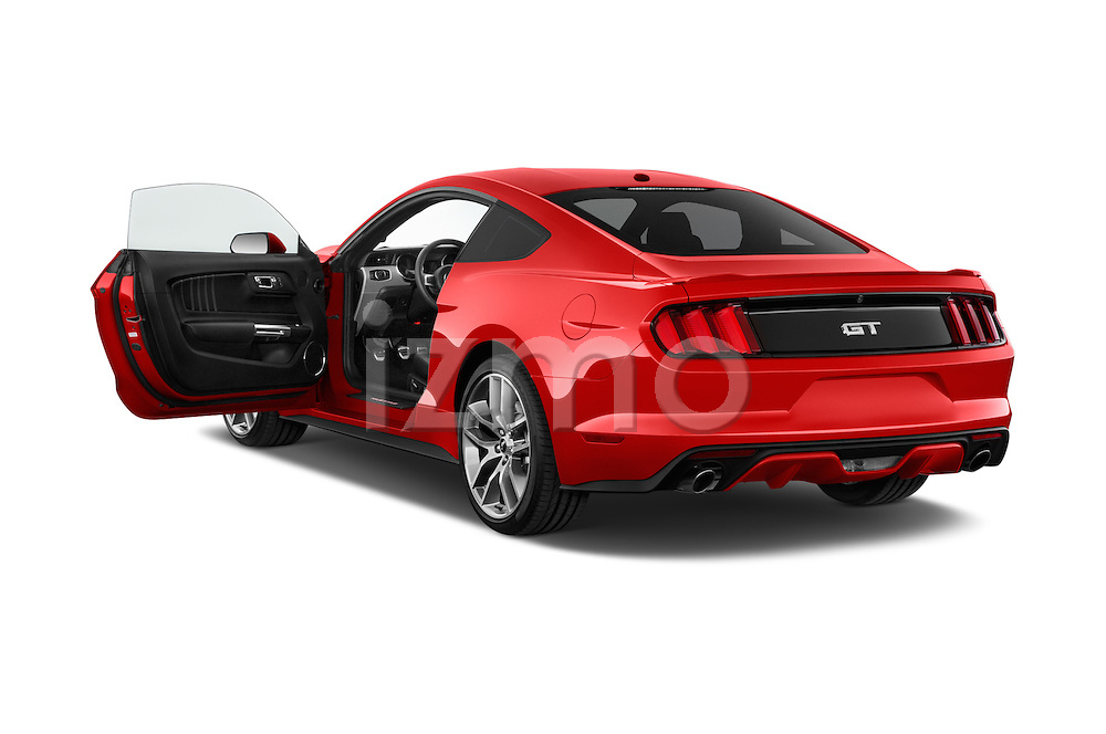 Car images close up view of a 2017 Ford Mustang GT Premium 2 Door Coupe doors