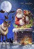Marcello, CHRISTMAS SANTA, SNOWMAN, WEIHNACHTSMÄNNER, SCHNEEMÄNNER, PAPÁ NOEL, MUÑECOS DE NIEVE, paintings+++++,ITMCXM2043,#X#