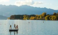 Late afternoon at Lake Wanaka, South Island, New Zealand
