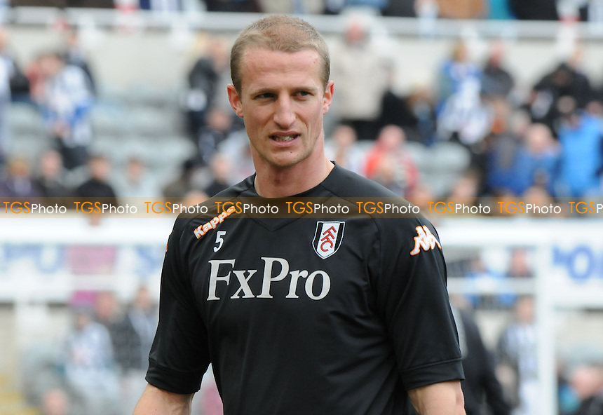 Fulham captain Brede Hangeland - Newcastle United vs Fulham - Barclays Premier League Football at St James Park, Newcastle upon Tyne - 07/04/13 - MANDATORY CREDIT: Steven White/TGSPHOTO - Self billing applies where appropriate - 0845 094 6026 - contact@tgsphoto.co.uk - NO UNPAID USE