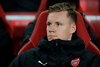 Arsenal goalkeeper, Bernd Leno, was named as a substitute during Arsenal vs Rennes, UEFA Europa League Football at the Emirates Stadium on 14th March 2019