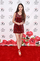 LOS ANGELES - APR 7:  Olivia Rodrigo at the My Friend's Place 30th Anniversary Gala on the Hollywood Palladium on April 7, 2018 in Los Angeles, CA