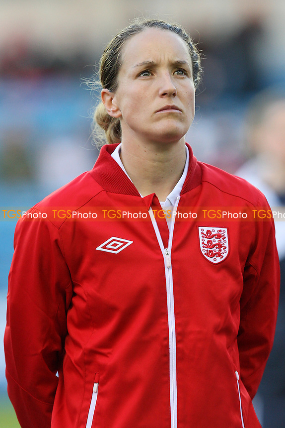 Casey Stoney of England - England Women vs Spain Women - FIFA Women's World Cup 2011 Qualifier at The New Den, Millwall FC, London -  01/04/10 - MANDATORY CREDIT: Gavin Ellis/TGSPHOTO - Self billing applies where appropriate - Tel: 0845 094 6026