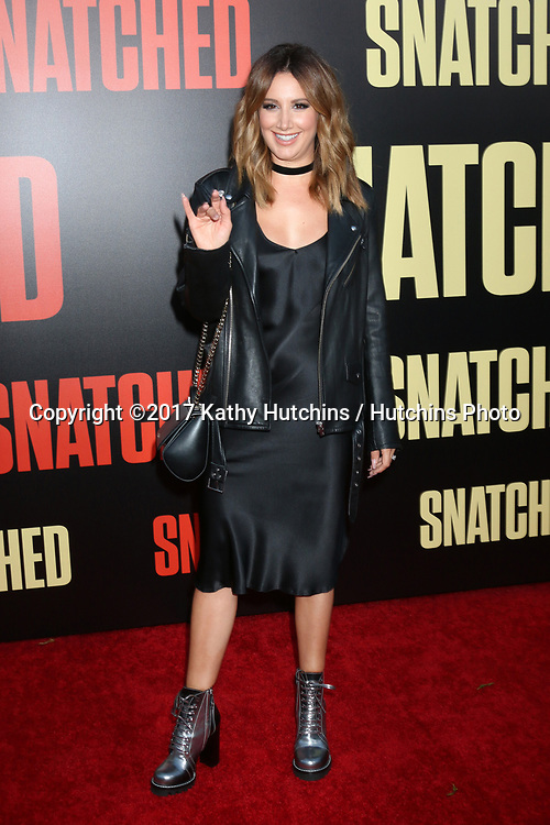 """LOS ANGELES - MAY 10:  Ashley Tisdale at the """"Snatched"""" World Premiere at the Village Theater on May 10, 2017 in Westwood, CA"""