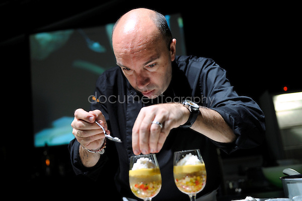 © Magali Corouge/ Documentography.8th of june 2009.Gastronomy Festival.Demos with Chef Jacques Pourcel.