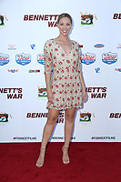 """LOS ANGELES - AUG 13:  Courtney Hope Turner at the """"Bennett's War"""" Los Angeles Premiere at the Warner Brothers Studios on August 13, 2019 in Burbank, CA"""