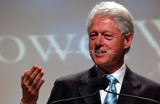 WWW.ACEPIXS.COM . . . . . ....October 6, 2006, New York City. ....Bill Clinton delivers speech during The Power Within, a motivational seminar.....Please byline: KRISTIN CALLAHAN - ACEPIXS.COM.. . . . . . ..Ace Pictures, Inc:  ..(212) 243-8787 or (646) 769 0430..e-mail: info@acepixs.com..web: http://www.acepixs.com