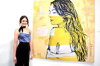 SANTA MONICA - JUN 25: Mallory Jansen at the David Bromley LA Women Art Exhibition opening reception at the Andrew Weiss Gallery on June 25, 2016 in Santa Monica, California