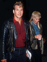 Patrick Swayze & wife Lisa 1984<br /> Photo By John BarrettPHOTOlink.net