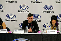 Jeremy Lambert at Wondercon in Anaheim Ca. March 31, 2019