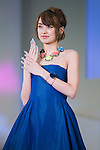 October 31, 2016, Tokyo, Japan - Akina Minami attends the Nail Queen 2016 event during the Tokyo Nail Expo 2016 on October 31, 2016. (Photo by AFLO)