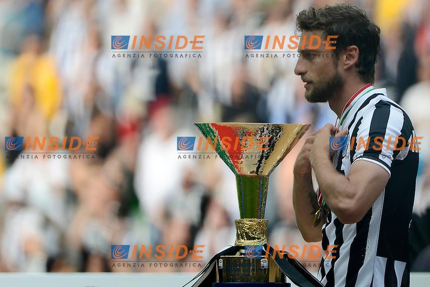 Claudio Marchisio  Juventus<br /> Torino 18-05-2014 Juventus Stadium - Football 2013/2014 Serie A. Juventus - Cagliari Foto Giuseppe Celeste / Insidefoto