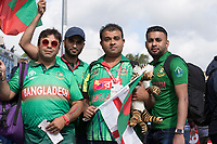 The Bangladesh fans again out in force to support their team during England vs Bangladesh, ICC World Cup Cricket at Sophia Gardens Cardiff on 8th June 2019