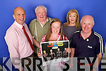 Kerry's Eye JLS ticket winner Laney Clancy from Listowel, From Left: Brendan Kennelly, Danny Leane, Laney Clancy, Claire Clancy and Richard O'Halloran.