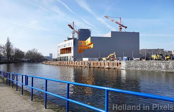 Nederland - Amsterdam - 2019. Amsterdam Noord. Hyperion lyceum.  Foto Berlinda van Dam / Hollandse Hoogte