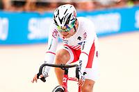 Picture by Alex Whitehead/SWpix.com - 10/12/2017 - Cycling - UCI Track Cycling World Cup Santiago - Velódromo de Peñalolén, Santiago, Chile - Japan's Eiya Hashimoto wins Silver in the Men's Omnium.