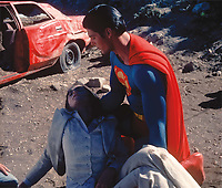 Superman (1978) <br /> Christopher Reeve &amp; Margot Kidder<br /> *Filmstill - Editorial Use Only*<br /> CAP/KFS<br /> Image supplied by Capital Pictures