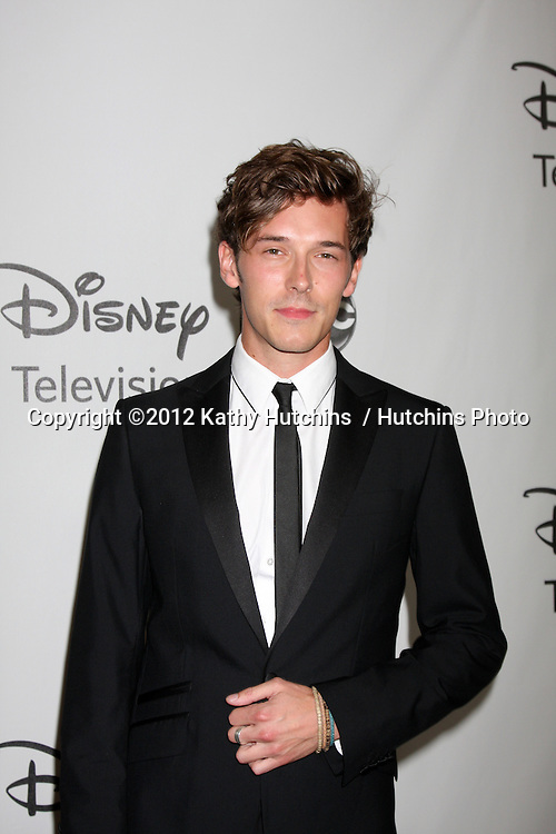 LOS ANGELES - JUL 27:  Sam Palladio arrives at the ABC TCA Party Summer 2012 at Beverly Hilton Hotel on July 27, 2012 in Beverly Hills, CA