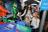 First Friday/Toyland in downtown Bentonville. Friday, November 2, 2018,Hosted by Downtown Bentonville Inc., the event featured Walmart venders bringing out toys and lifesize characters to give out toys, promotional items and to interact with visitors.<br /> NWA Democrat-Gazette/DAVID GOTTSCHALK NWA Arkansas Democrat-Gazette/DAVID GOTTSCHALK