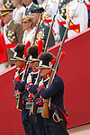 Spanish military companies of ancient times during a military parade marking the Armed Forces Day on June 2, 2012 in Valladolid.(ALTERPHOTOS/Acero)