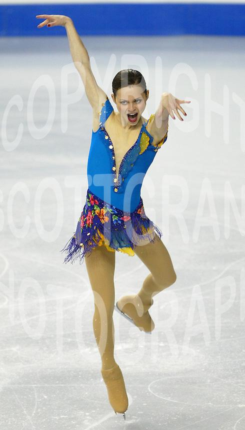 Sasha Cohen USA 2006 World Figure Skating Championships Calgary Photo Scott Grant