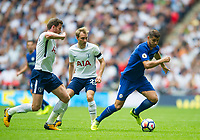 Chelsea's Alvaro Morata during the Premier League match between Tottenham Hotspur and Chelsea at Wembley Stadium, London, England on 20 August 2017. Photo by Andrew Aleksiejczuk / PRiME Media Images.