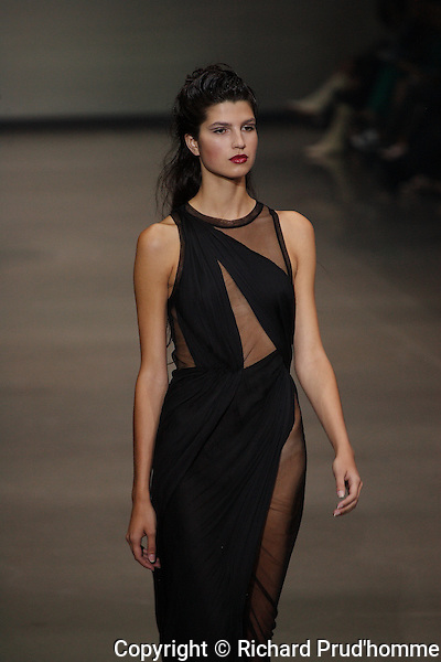 UNTTLD Spring-Summer 2014 collection fashion show at Montreal Fashion Week.