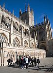 The Abbey church, Bath, Somerset, England