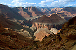 The sweeping curve of the Colorado River viewed from the top of Eminence Break. Grand Canyon National Park, Arizona