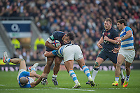 Twickenham, United Kingdom.  Billy VUNIPOLA, during the Old Mutual Wealth Series Rest Match: England vs Argentina, at the RFU Stadium, Twickenham, England, <br /> <br /> Saturday  26/11/2016<br /> <br /> [Mandatory Credit; Peter Spurrier/Intersport-images]