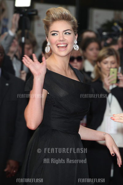 Kate Upton arriving for the UK Gala Screening of The Other Woman, at the Curzon Mayfair, London. 02/04/2014 Picture by: Alexandra Glen / Featureflash