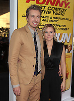LOS ANGELES, CA - AUGUST 14: Dax Shepard and Kristen Bell arrives at the 'Hit &amp; Run' Los Angeles Premiere on August 14, 2012 in Los Angeles, California mpi21 / Mediapunchinc /NortePhoto.com<br />