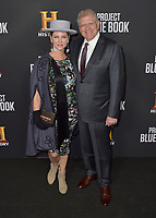 "03 January 2019 - Los Angeles, California - Leslie Zemeckis, Robert Zemeckis. ""Project Blue Book"" History Scripted Series Los Angeles Premiere held at Simon House. Photo Credit: AdMedia"